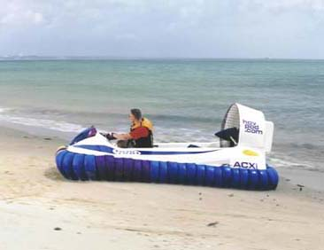 Hov Pod Leisure Hovercraft Image